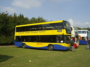 Anglian Bus - Scania OmniCity in September 2008