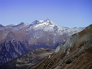 Ankogel seen from the Auernig