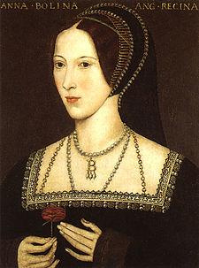 Anna Boleynová, druhá manželka Jindřicha VIII.