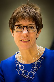 Annegret Kramp-Karrenbauer German politician