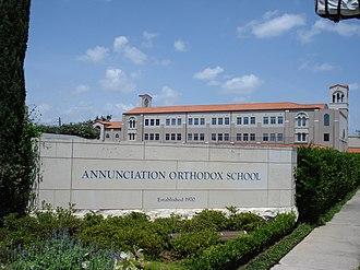 Annunciation Orthodox School - Image: Annunciation Orthodox School