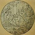Anoniem, Medaillon met de aanbidding der Koningen - Médaillon représentant l'adoration des Rois mages, KBS-FRB.jpg