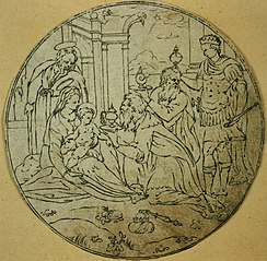 Medallion with the Adoration of the Magi