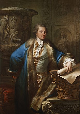 James Adam (architect) - Portrait of James Adam by Antonio Zucchi