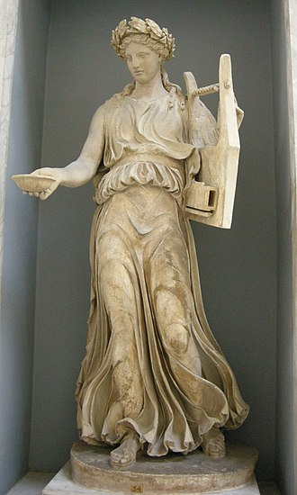Cithara - Apollo citharoedus, Roman copy of Greek original of the 5th century BC