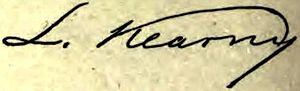 Lawrence Kearny - Image: Appletons' Kearny Lawrence signature