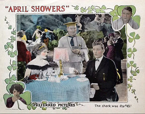 April Showers (1923 film) - Lobby card