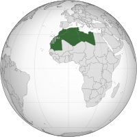 Arab Maghreb Union (orthographic projection).svg