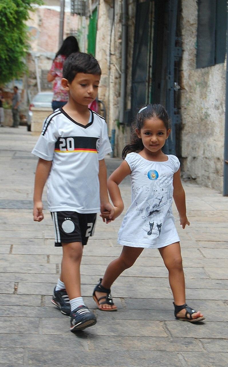 Arabs kids