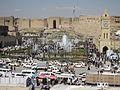 Arbil Citadel from the 3rd floor of the opposite shopping center.jpg