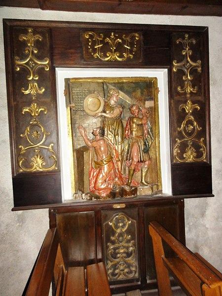 Arcangues decapitation de saint Jean Baptiste