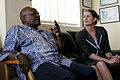 Archbishop Tutu and Her Excellency Ann Harrap (10666685686).jpg
