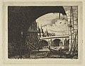 Archway, Pont Nôtre-Dame, Paris MET DP813153.jpg