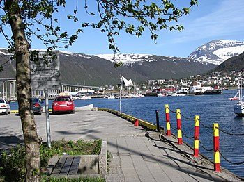 Late May in Tromsø, Norway. The two month peri...