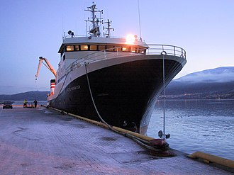 Factory ship - Image: Arctic Warrior Trawler Pic 1