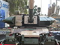 Arjun Mk II turrent front.JPG