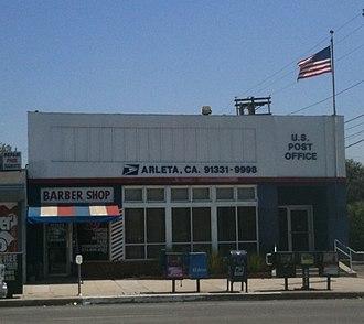 Arleta, Los Angeles - Image: Arleta PO 2010