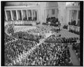 Armistice Day services at Arlington. Washington, D.C., Nov. 11. General view of the services at Arlington National Cemetery today to mark the 21st anniversary of the signing of the LCCN2016876597.tif