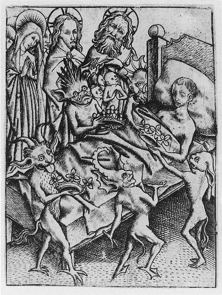 Ars moriendi (Meister E.S.), L.181