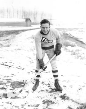 Art Gagné - Gagné with the Edmonton Eskimos in the 1921–22 season.