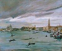 Artgate Fondazione Cariplo - Carpi Aldo, Il bacino di San Marco a Venezia.jpg