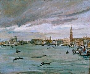 Il bacino di San Marco a Venezia