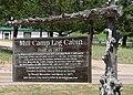 Arthur, Nebraska log cabin sign.JPG