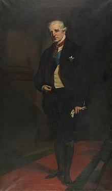 China thimble Duke of Wellington Historical Arthur Wellesley
