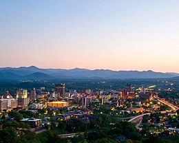Asheville o zmierzchu.jpg