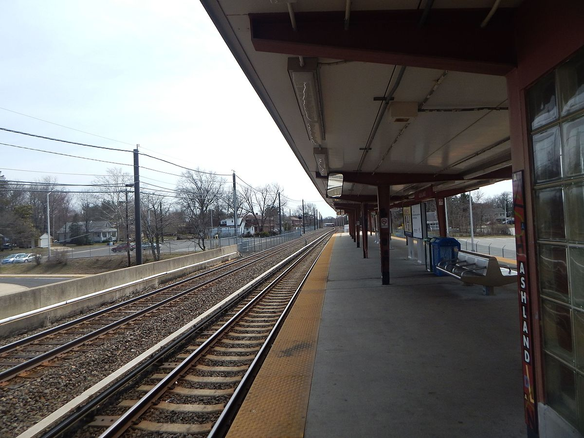 Px Ashland Patco Station Facing Southeast C April
