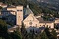 Assisi - Veduta dalla rocca maggiore, San Rufino.jpg