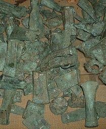 Assorted bronze castings.JPG