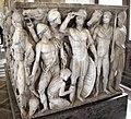 Atene, sarcofago con achille licomede, 240 dc ca, da roma, collez. borghese, 09.JPG
