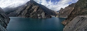 Attabad Lake - Panoramic View of Attabad lake