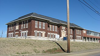 National Register of Historic Places listings in Christian County, Kentucky - Image: Attucks High School, Hopkinsville