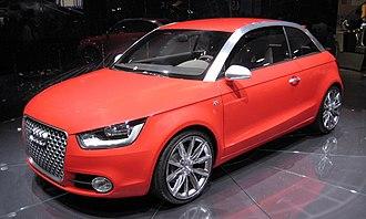 Audi A1 - Audi metroproject quattro (front)