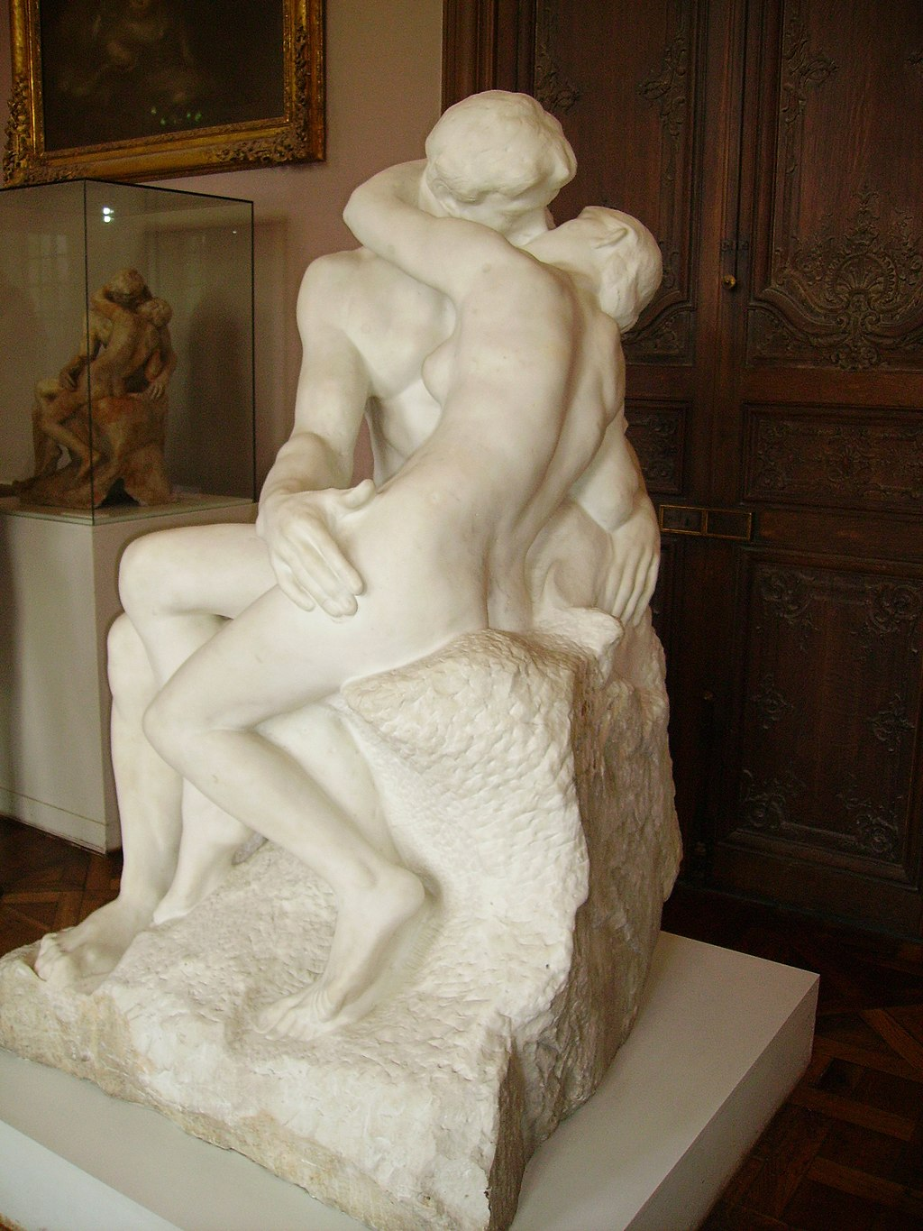 """""""The Kiss"""" by Auguste Rodin"""