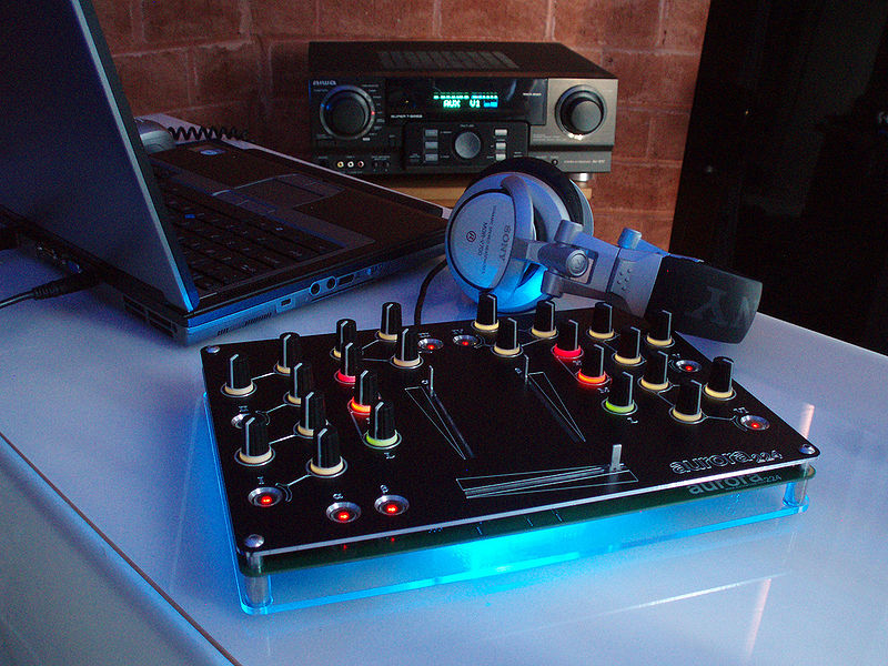 home dj mixer