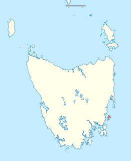 island off the eastern Tasmanian coast