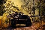 Australian Army M1A1 Abrams tank during exercise Hamel 15.jpg