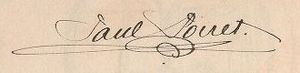 Paul Poiret - Image: Autograph of Paul Poiret