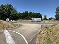 Autoroute A40 vue depuis Voie Service Rue Serve Gachet St André Bâgé 5.jpg