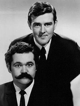 Avery Schreiber and Jack Burns 1966.jpg