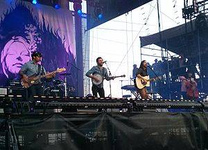 The Avett Brothers - The Avett Brothers at the Bottlerock music festival, Napa, California, May 2013