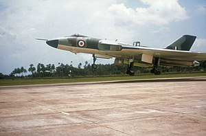 Richard Vincent, Baron Vincent of Coleshill - An Avro Vulcan being deployed during the Indonesia–Malaysia confrontation