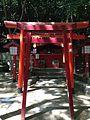 Awashima Shrine and Nuregami Daimyojin Shrine (No.5 of Okunomiya 8 Shrines) in Miyajidake Shrine.jpg