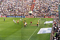 Bökelberg - Szene aus einem Spiel gegen Borussia Dortmund.jpg