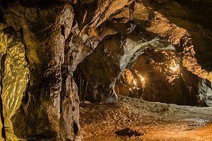 Býčí skála Cave - Image: Býčí skála 3