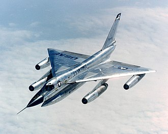 Convair B-58 Hustler - Convair B-58 of the United States Air Force