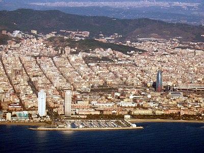 Barcelona wybrzeże - plaża